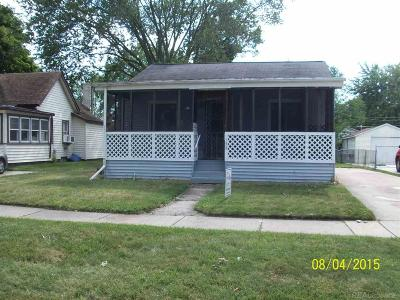 Mount Clemens Rental For Rent: 158 Dickinson
