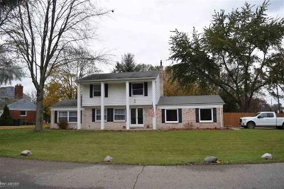 Shelby Twp Single Family Home For Sale: 5803 Harlowe