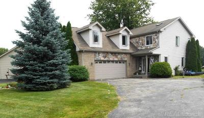 Chesterfield Twp MI Single Family Home For Sale: $319,900