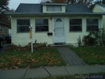 Clinton Township Single Family Home For Sale: 19589 Webster St