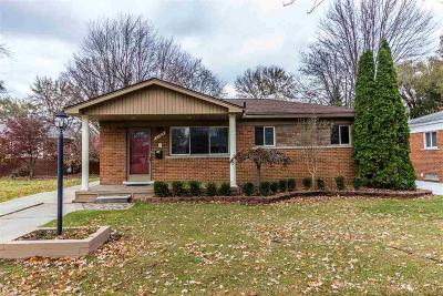 Saint Clair Shores Single Family Home For Sale: 21013 Saint Gertrude