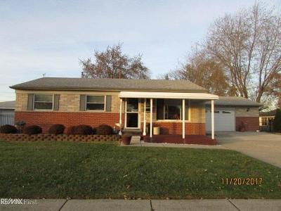 Clinton Township Single Family Home For Sale: 34811 Whittaker