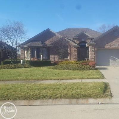 Macomb Twp Single Family Home For Sale: 48167 Prestwyck