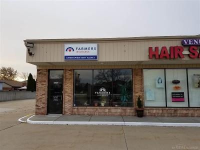 Clinton Township Commercial Lease For Lease: 40620 Hayes