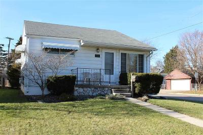 Center Line Single Family Home For Sale: 25249 Comfort