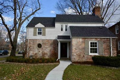 Grosse Pointe Farms Single Family Home For Sale: 288 Fisher