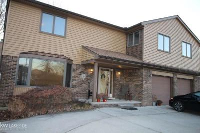 Saint Clair Shores Single Family Home For Sale: 23340 Edgewater