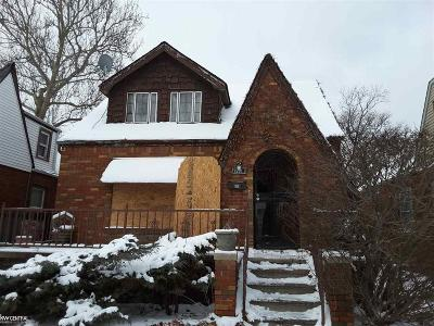 Detroit Single Family Home For Sale: 15011 Appoline