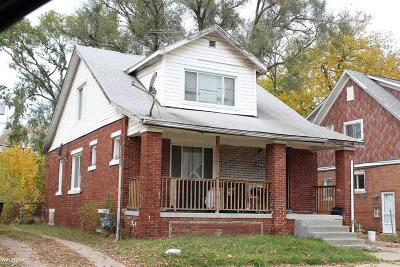 Detroit Single Family Home For Sale: 15749 Hartwell