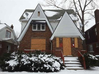 Detroit Single Family Home For Sale: 5238 Somerset