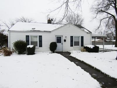 Saint Clair Shores Single Family Home For Sale: 27920 Larchmont