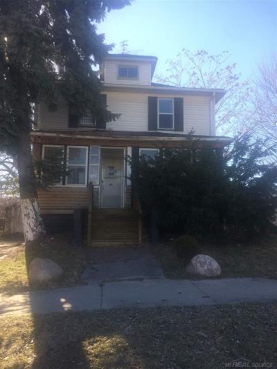 Mount Clemens Single Family Home For Sale: 127 Jones