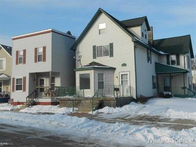 Mount Clemens Multi Family Home For Sale: 185 North Ave