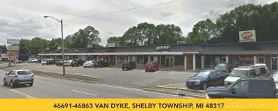 Shelby Twp Commercial Lease For Lease: 46863 Van Dyke