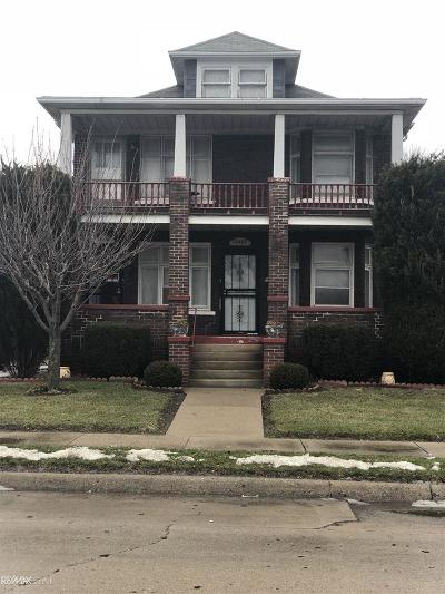Macomb Multi Family Home For Sale: 16431-33 Wilson