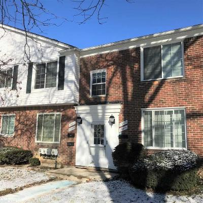 Saint Clair Shores Condo/Townhouse For Sale: 23315 Edsel Ford