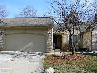 Clinton Township Condo/Townhouse For Sale: 43066 Kirkwood Dr