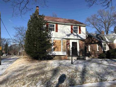 Detroit Single Family Home For Sale: 11603 Lansdown