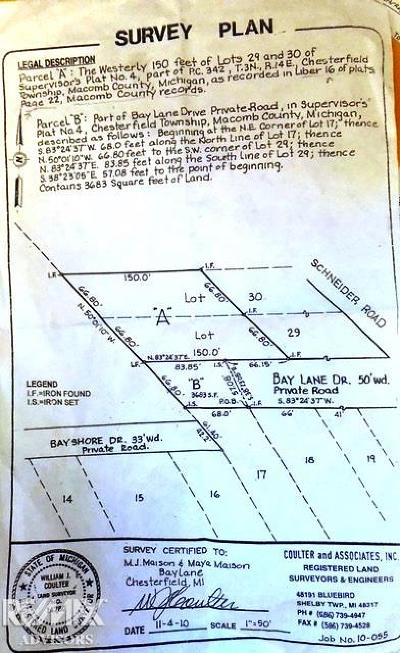Residential Lots & Land For Sale: Bay St