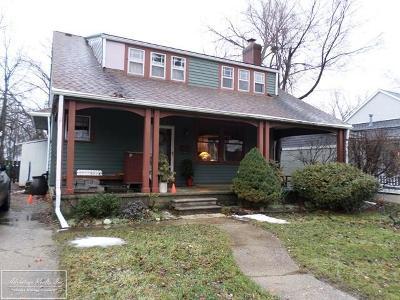 Royal Oak Single Family Home For Sale: 3123 Parker