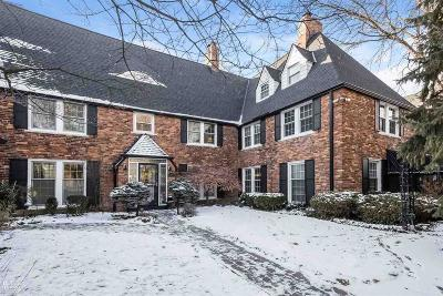 Grosse Pointe Single Family Home For Sale: 403 Rivard Blvd.