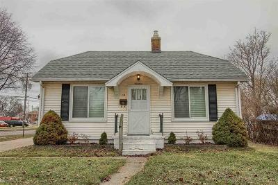 Mount Clemens Single Family Home For Sale: 19 Clair St