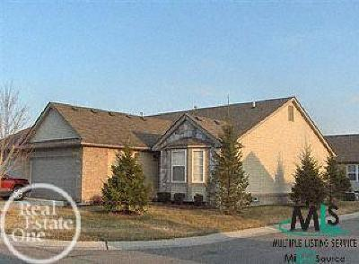 Sterling Heights Condo/Townhouse For Sale: 4154 Lakefield