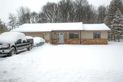 Algonac Single Family Home For Sale: 6690 Swartout