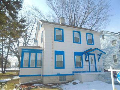 Mount Clemens Single Family Home For Sale: 119 Jones