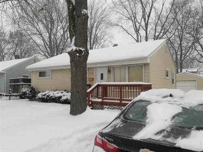 Berkley Single Family Home For Sale: 3578 Greenfield