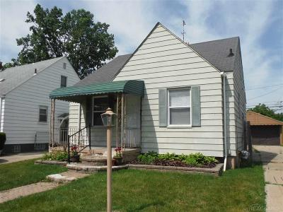 Eastpointe Single Family Home For Sale: 21237 Beechwood Avenue