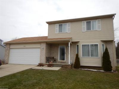 Ira Single Family Home For Sale: 8466 Samantha