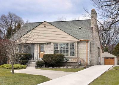 Grosse Pointe Farms Single Family Home Sold: 322 Kerby