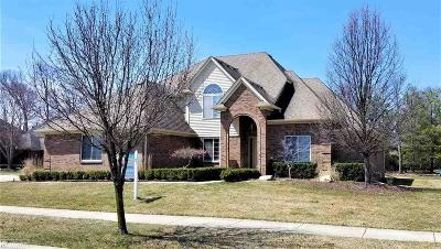 Shelby Twp Single Family Home For Sale: 54081 Cambridge