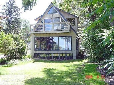 St. Clair Single Family Home For Sale: 6542 Lakeshore Road