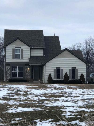 Lenox Single Family Home For Sale: 27715 29 Mile Rd