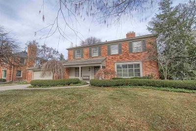 Grosse Pointe Woods Single Family Home For Sale: 1120 S Oxford Road