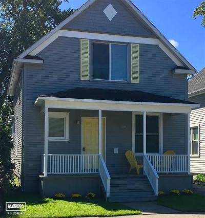 Port Huron Single Family Home For Sale: 1116 Stanton