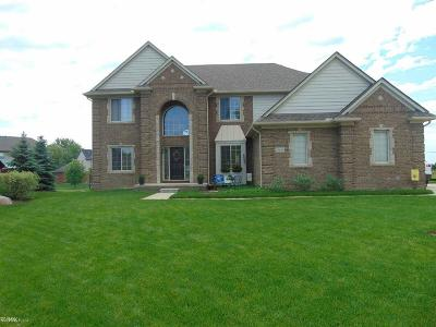 Macomb Twp Single Family Home For Sale: 55104 Corbin