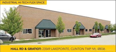 Clinton Township Commercial Lease For Lease: 23546 Lakepointe