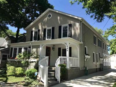 Grosse Pointe Farms Single Family Home For Sale: 188 Lakeview Ave