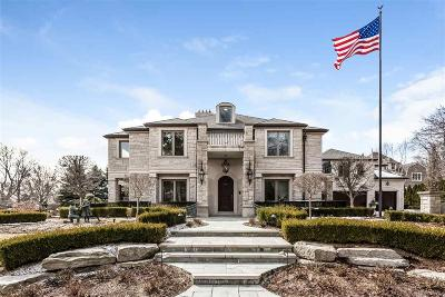 Grosse Pointe Farms Single Family Home For Sale: 371 Lakeshore