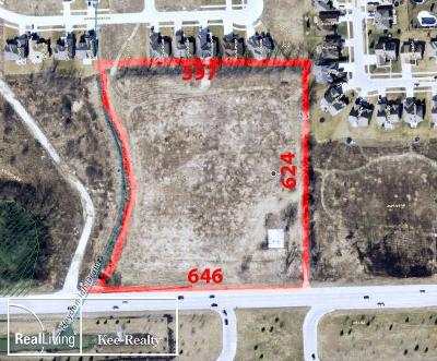 Macomb Residential Lots & Land For Sale: Hall Rd