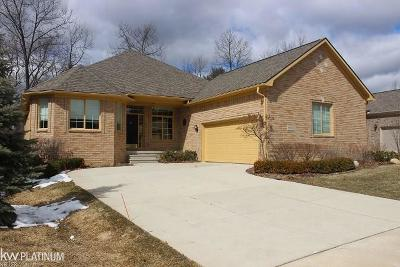Washington Twp Condo/Townhouse For Sale: 58865 Gallery Ct.