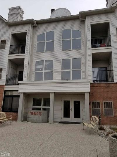 Clinton Township Condo/Townhouse For Sale: 39182 Hayes