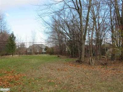 Chesterfield Twp Residential Lots & Land For Sale: Jefferson Rd