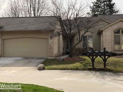 Clinton Township Condo/Townhouse For Sale: 43066 Kirkwood