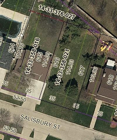 Saint Clair Shores Residential Lots & Land For Sale: Salisbury