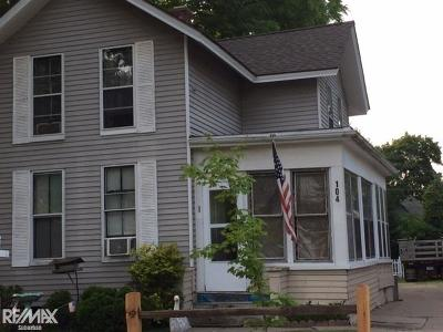 Mount Clemens Multi Family Home For Sale: 104 Grand Street