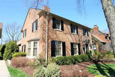 Grosse Pointe Single Family Home For Sale: 729 Fisher